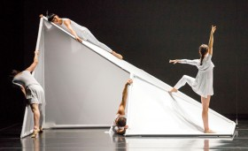 Jessica Lang Dance and  Steven Holl  Tesseracts of Time