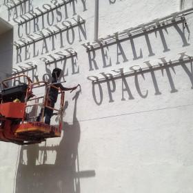 DAKU  typographic sundial