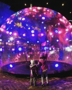 ENESS  sonic light bubble installation