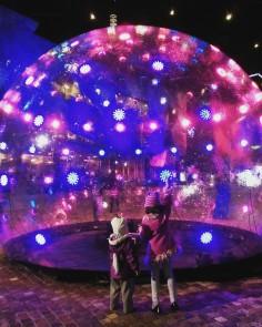 ENESS  sonic light bubble installation