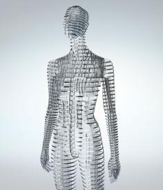 tokujin yoshioka transparent body installation