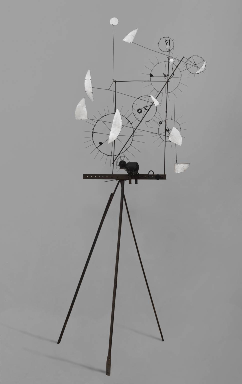 Metamechanical Sculpture with Tripod 1954 by Jean Tinguely 1925-1991