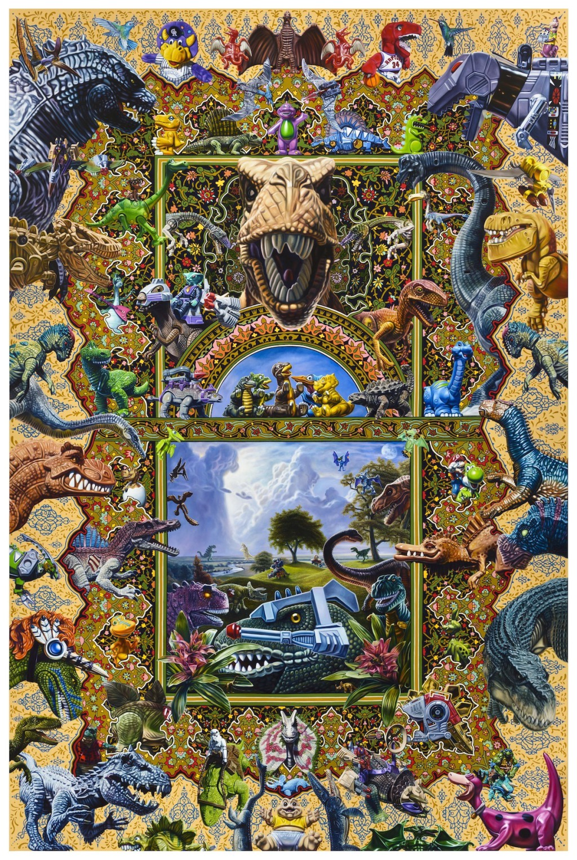 Robert Xavier Burden Dinosaurs