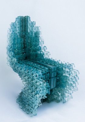 Manuel Jimenez Garcia and Gilles Retsin Nagami Design and Vicente Soler Voxel Chair