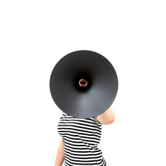 Matter Design megaphones