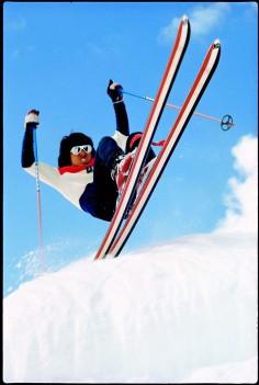 Hot Dog Freestyle skiing