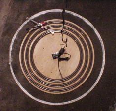 Joseph DeLappe circle drawing surveillance system