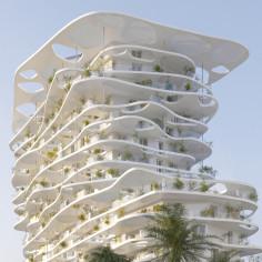sou fujimoto architects Meridia Tower