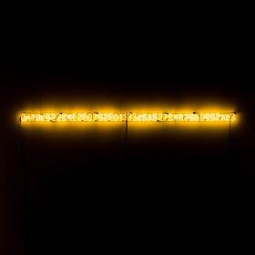 """YELLOW LAMBO"" (2018) / Kevin Abosch Yellow Neon Glasss Sculpture."