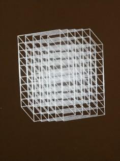 Manfred Mohr Cubic Limit
