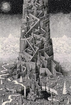 Benjamin Sack Impossible Cityscapes Samsara