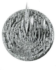 Benjamin Sack Infinite Cityscapes