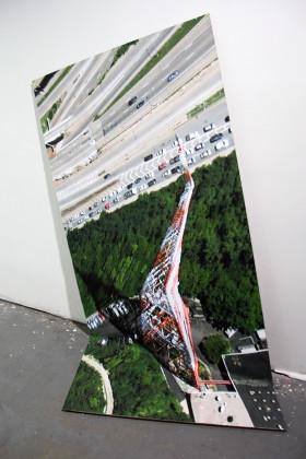 CLEMENT VALLA installation The Universal Texture