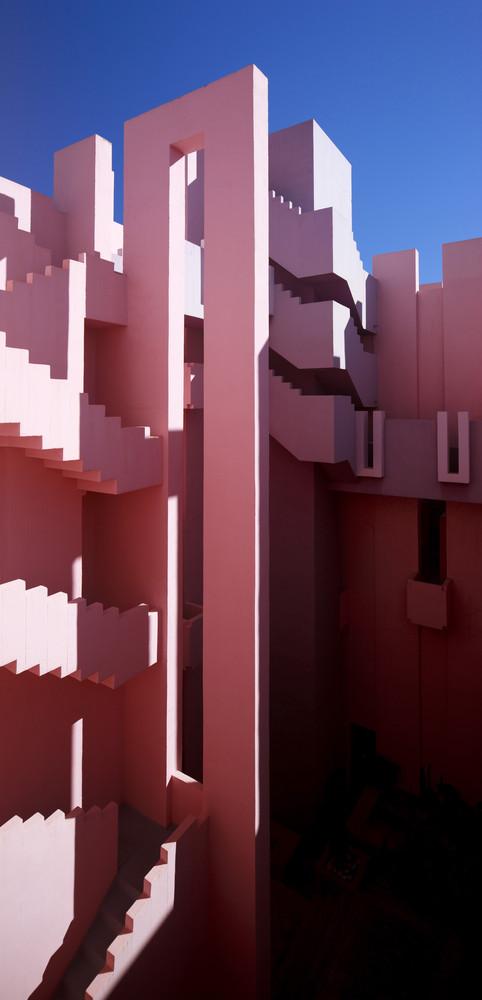 Ricardo Bofill Architects La Muralla Roja