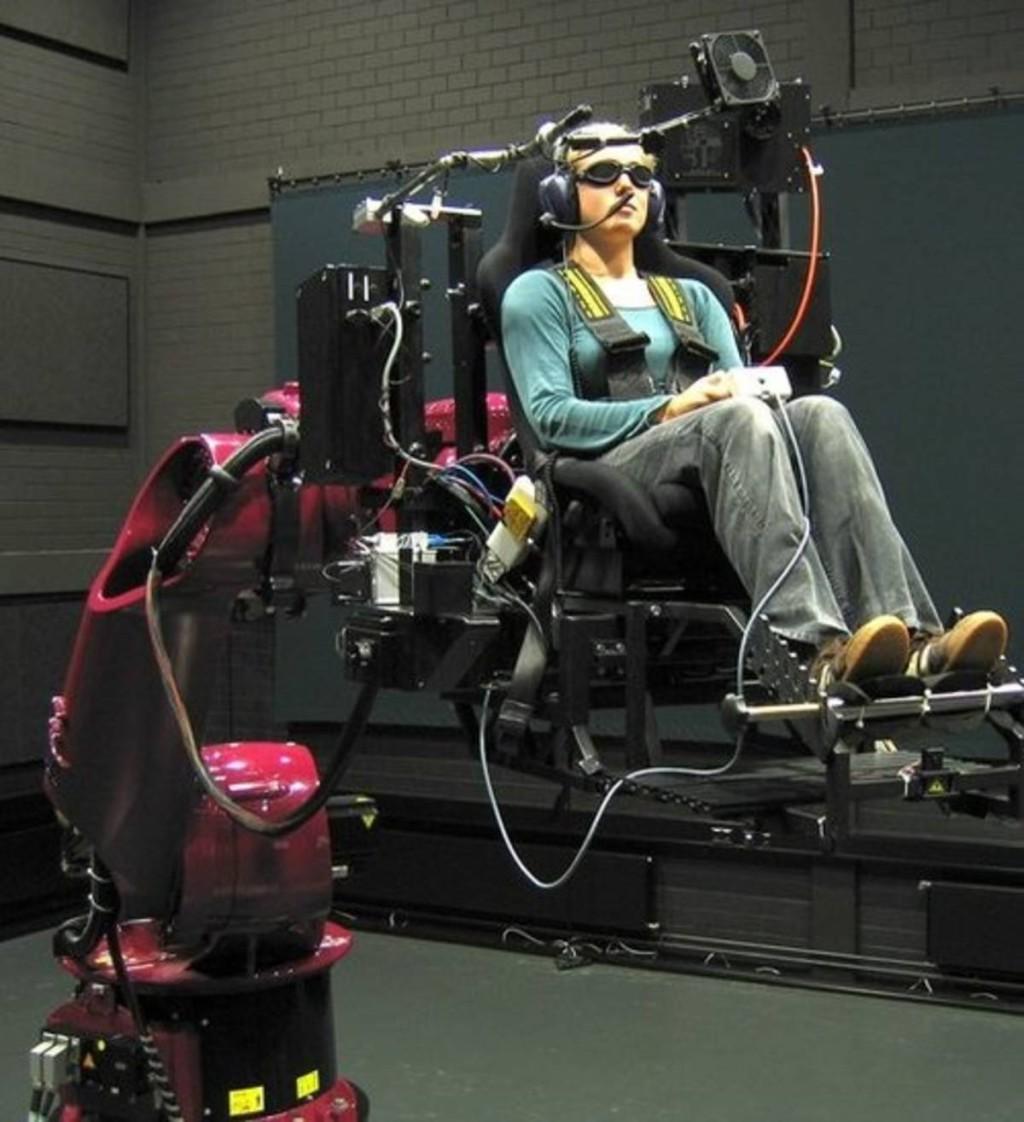 Cyber Motion Simulator
